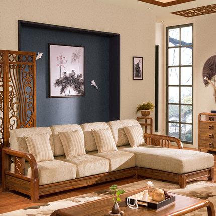 简约现代木质沙发